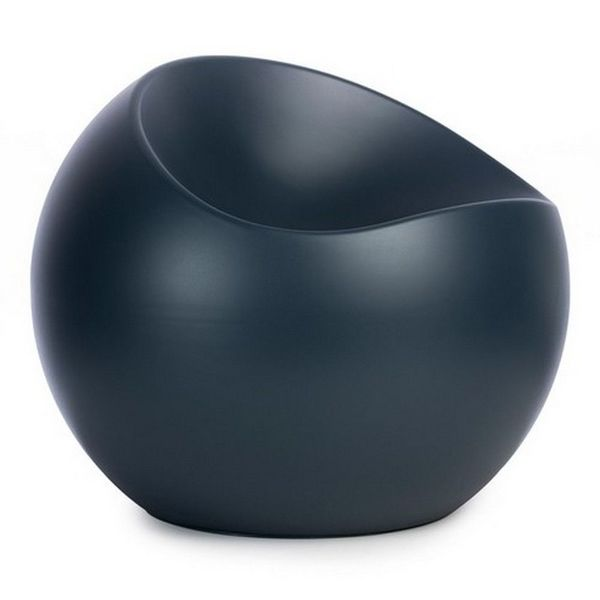 Ball Chair bleu petrole