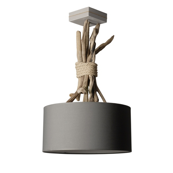 Suspension En Bois Flotte Luminaire Design Loftboutik