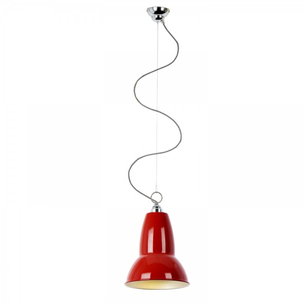 Suspension anglepoise duo rouge