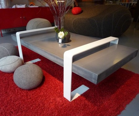Table beton design