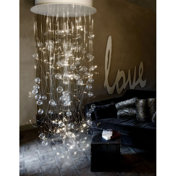 Lustre design fibre optique
