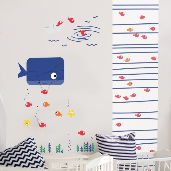 Sticker poisson enfant
