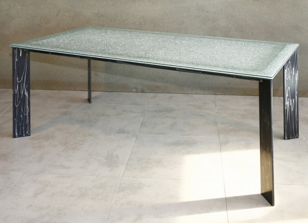 Table haute verre
