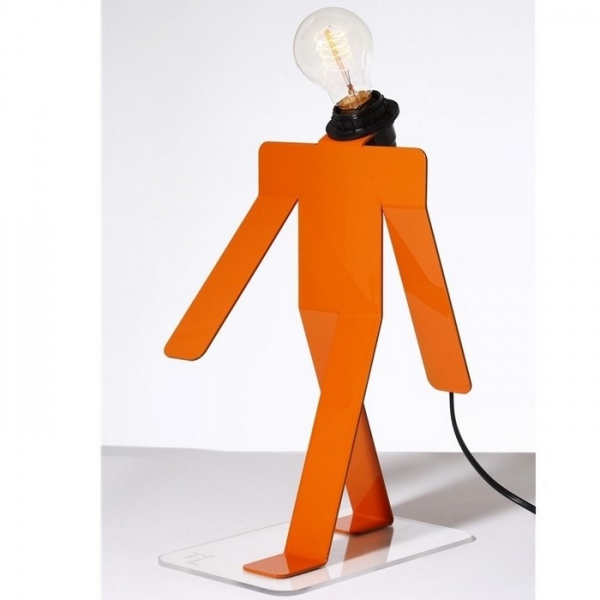Lampe Moonwalk Orange tekniks
