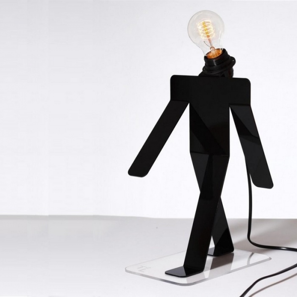 Lampe Moonwalk tekniks