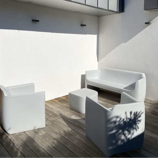 Ensemble salon de jardin design