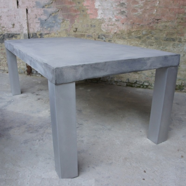 Table A Manger Beton Table Design Table De Salle A Manger Design