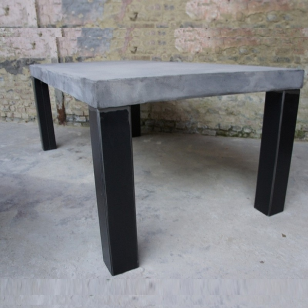 Table salle manger design en b ton table design - Table a manger beton ...