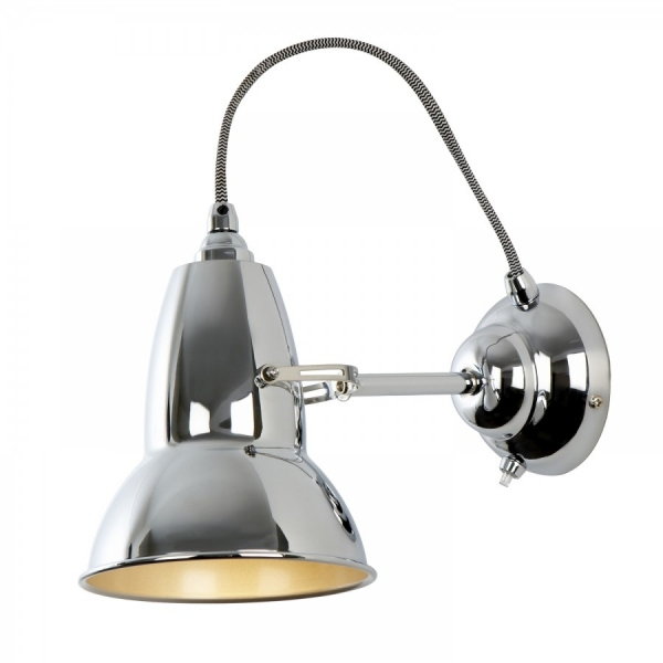 applique anglepoise chrome