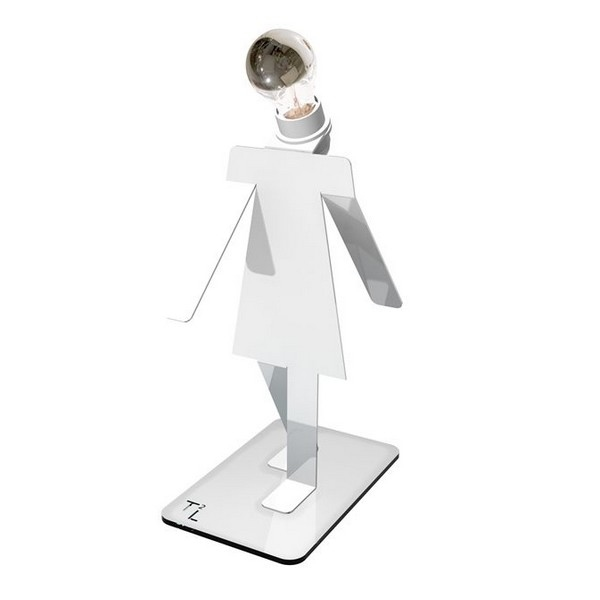 Lampe design Moonwalkette