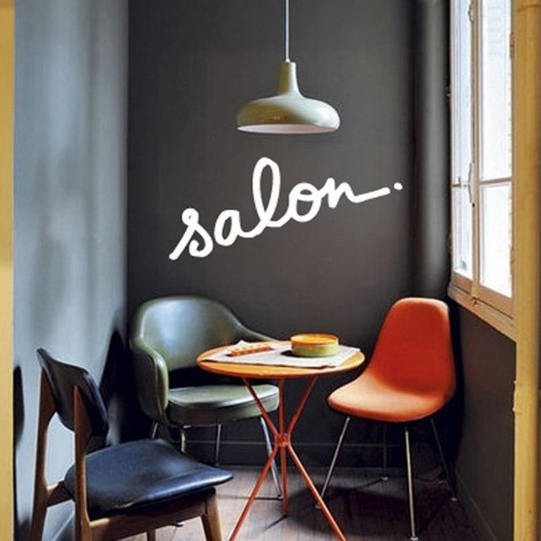 Sticker salon