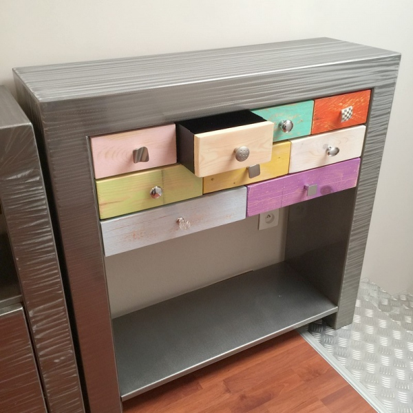 Console commode
