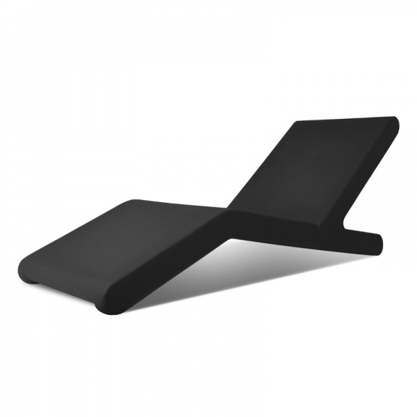 Transat Design Noir - Chaise longue Design - loftboutik.com