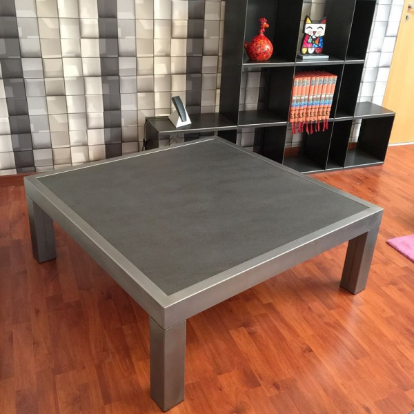 Table basse metal table basse design table basse for Table basse style loft