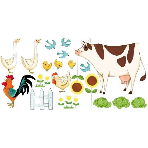 Stickers animaux de la ferme