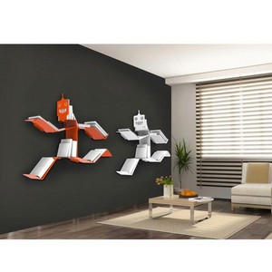 Deco murale originale metal for Accessoires decoration murale