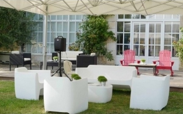 Ensemble salon de jardin qui est paul - canape design