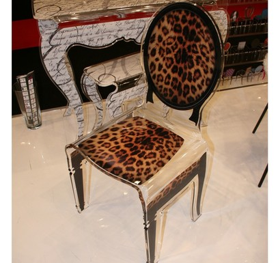 chaise-design-leopard