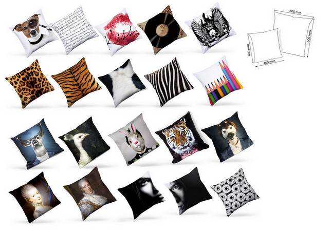 coussin imprim tigre coussin deco coussin design. Black Bedroom Furniture Sets. Home Design Ideas