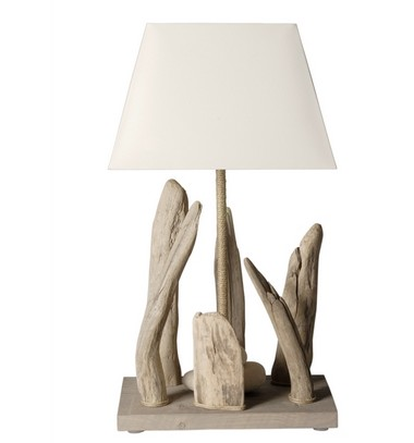 Lampe bois flott lampe design for Lampe en bois flotte creation