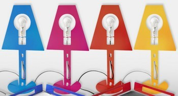 lampe design couleurs
