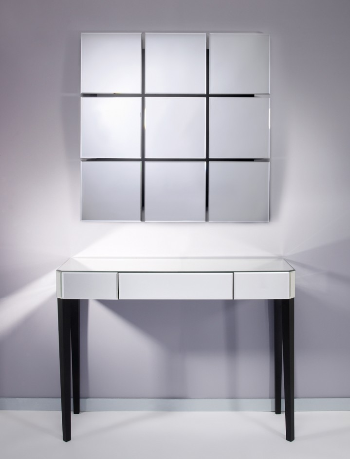 meuble console miroirs