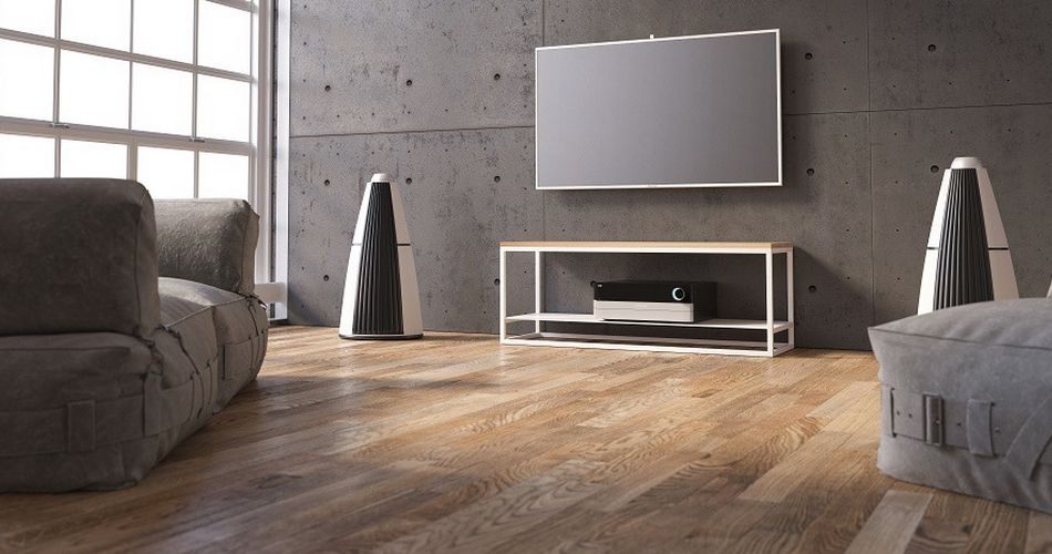 meuble tv scandinave, design minimaliste