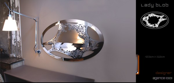 Emejing Miroirs Design Contemporain Photos - Home Decorating Ideas ...