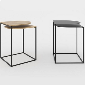 Table d'appoint design minimaliste Map