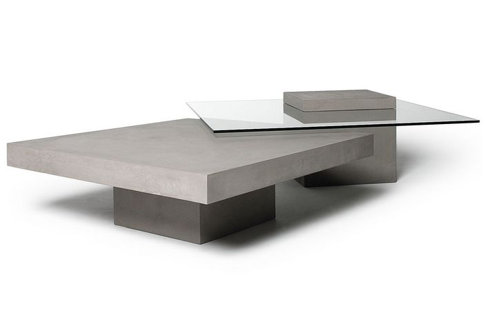 table-basse-beton-carre
