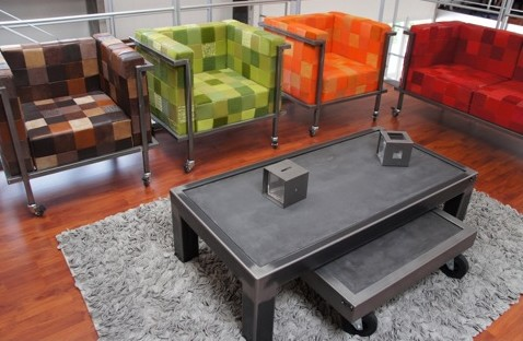 table-basse-beton-metal
