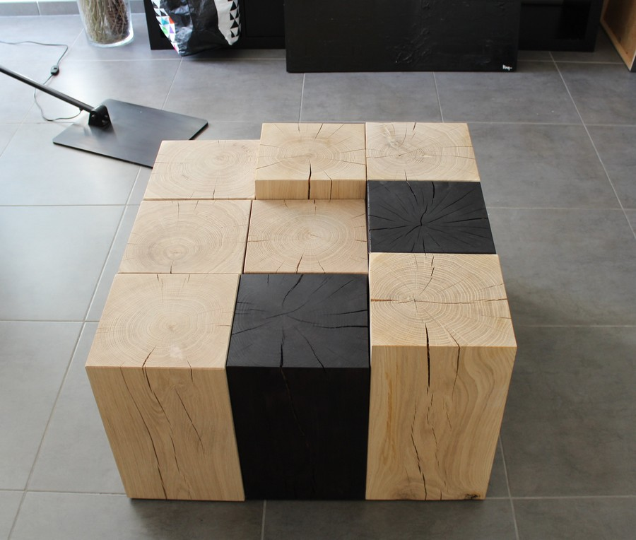 table-basse-cube-bois