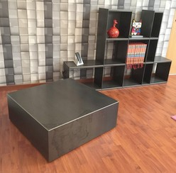 table-basse-cube-metal