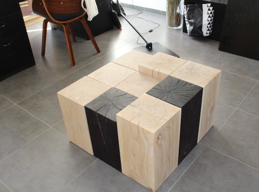 table-basse-cubes-bois