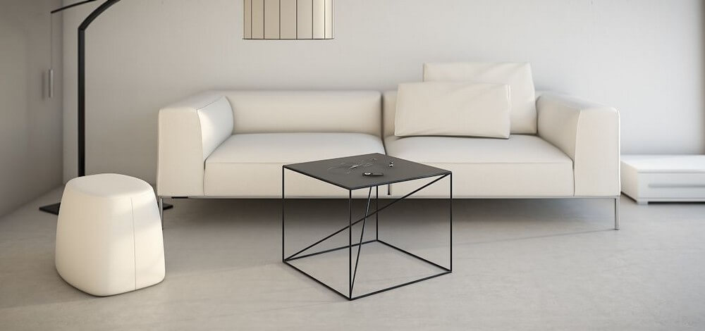 table-basse-salon-metal-noir