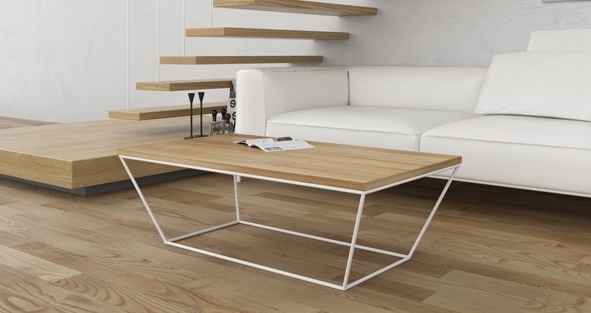 Table basse pour salon design scandinave