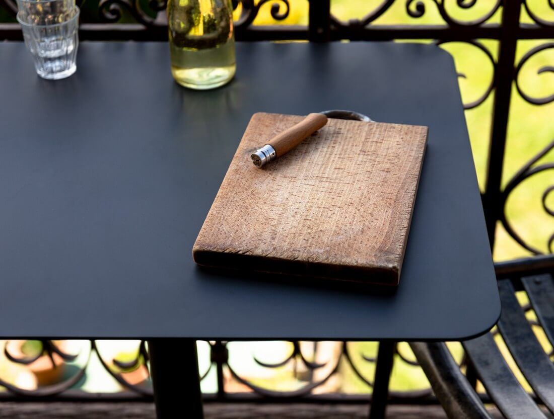 table bistrot rectangle