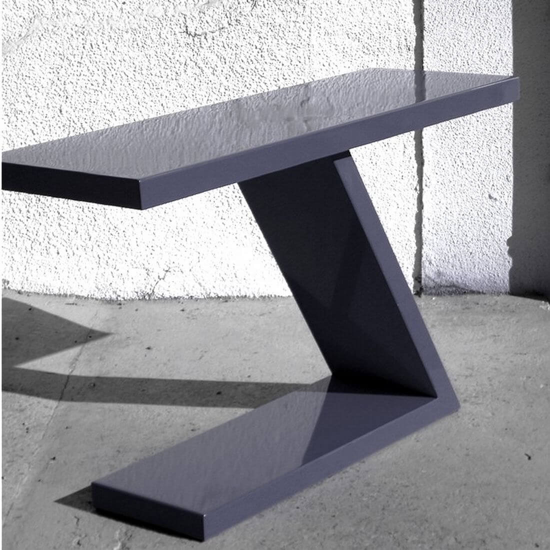 table console design