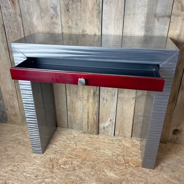 table console metal