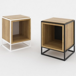 Table basse et table d'appoint design scandinave Cube