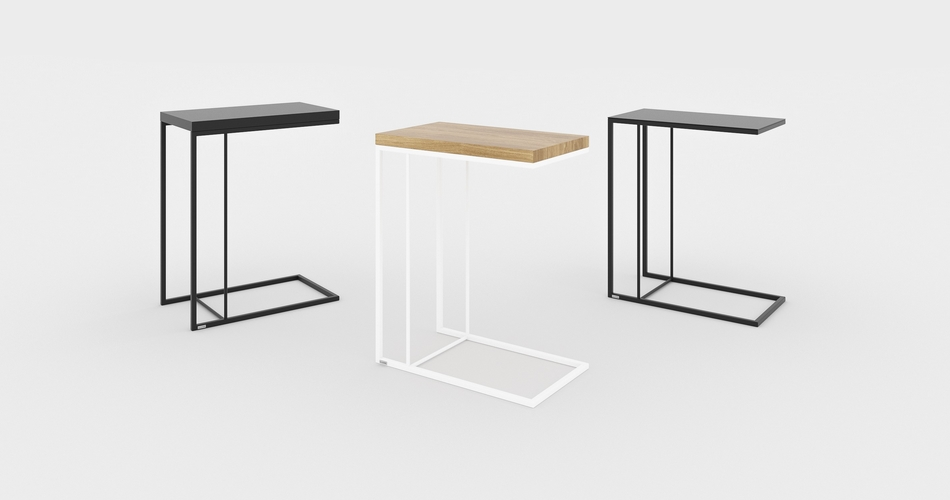 Table d'appoint pour salon décoration scandinave