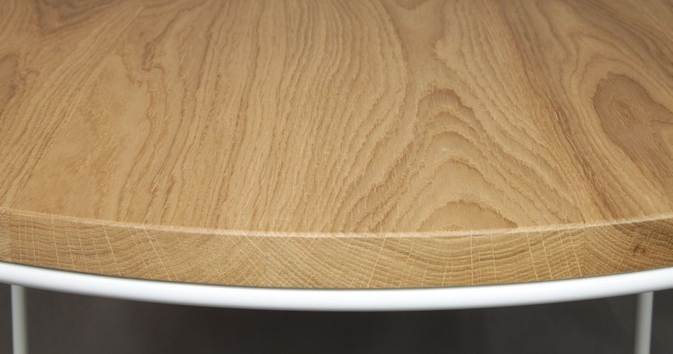 Table basse scandinave en bois, table de salon et table d'appoint scandinave
