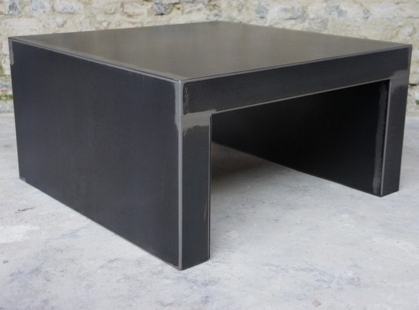 table industrielle - table metal - Table basse design