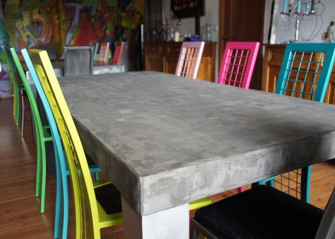 table-haute-beton