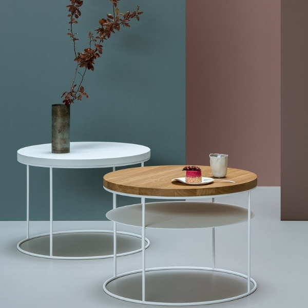 tale d'appoint ronde design