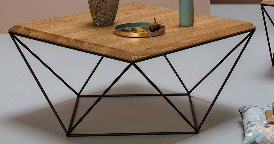 Table basse salon scandinave
