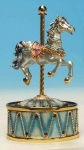 Musical horse automatons