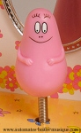 Trousselier music boxes with dancing Barbapapa and Trousselier musical Jewelry boxes with dancing Barbapapa