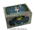 Musical jewelry boxes with dancing ballerinas