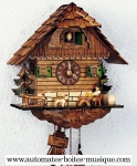 Quartz Schneider Black Forest cuckoo clocks
